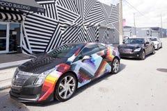 Настенные росписи искусства на Wynwood Стоковые Фото