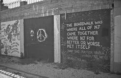Настенные росписи искусства улицы Стоковое фото RF