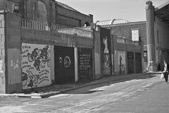 Настенные росписи искусства улицы Стоковые Изображения RF