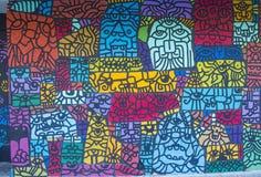 Настенные росписи Лас-Вегас Стоковые Фото