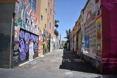 Настенные росписи переулка фанфаров очень красивые очень творческие, 1 Стоковые Фотографии RF