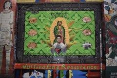 Настенные росписи переулка фанфаров очень красивые очень творческие, 4 Стоковое Фото