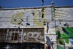 Настенные росписи переулка фанфаров очень красивые очень творческие, 25 Стоковое Изображение