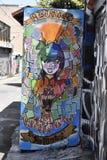 Настенные росписи переулка фанфаров очень красивые очень творческие, 27 Стоковое Фото