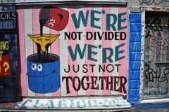 Настенные росписи переулка фанфаров очень красивые очень творческие, 42 Стоковое Фото