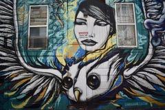 Настенные росписи переулка фанфаров очень красивые очень творческие, 44 Стоковая Фотография