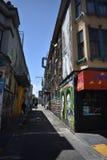 Настенные росписи переулка фанфаров очень красивые очень творческие, 58 Стоковая Фотография RF