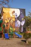 Настенные росписи San Miguel Стоковое фото RF