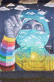 Настенные росписи San Miguel Стоковая Фотография