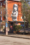 Настенные росписи San Miguel Стоковые Изображения RF