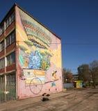 Настенные росписи San Miguel Стоковые Фотографии RF