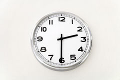 Настенные часы, измерение времени, конец вверх Стоковое Изображение RF