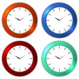 Настенные часы Стоковая Фотография