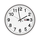 Настенные часы Стоковые Фотографии RF