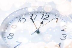 Настенные часы Стоковое Фото