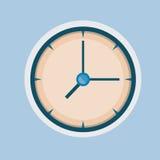 Настенные часы Стоковые Фото