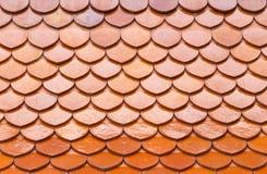 Настелите крышу сделанное ‹â€ ‹â€ плиток Стоковое Изображение