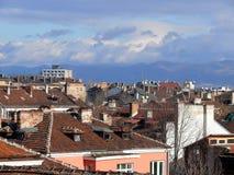 настилает крышу весна sofia Стоковая Фотография RF