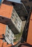 настилает крышу townhouse Стоковая Фотография