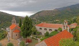 настиленный крышу красный цвет montenegro церков Стоковая Фотография RF