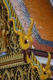 настилите крышу висок тайский Стоковая Фотография RF