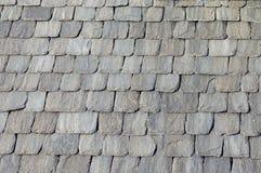 настилите крышу камни Стоковые Изображения RF