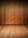 настил огораживает деревянное Стоковые Фотографии RF
