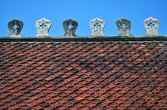 настилите крышу висок тайский Стоковые Изображения