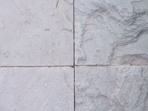 Настил песчаника около сада Деталь текстуры песчаника Стоковое фото RF