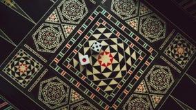 Настольная игра нард, косточек на доске Стоковые Фото