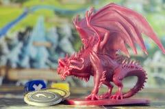 Настольная игра, роль играя игру, подземелья и драконы спуска, dnd Стоковые Фото