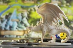 Настольная игра, роль играя игру, подземелья и драконы спуска, dnd Стоковое Изображение