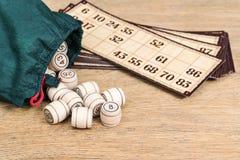 Настольная игра Lotto Стоковые Изображения
