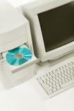 настольный компьютер компьютера Стоковые Фотографии RF