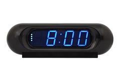 настольный компьютер часов электронный Стоковые Фотографии RF