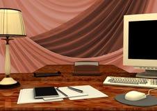 Настольный компьютер Стоковая Фотография