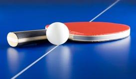 настольный теннис оборудования Стоковое фото RF