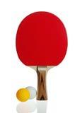 настольный теннис ракетки шарика стоковая фотография rf