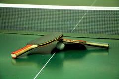 настольный теннис 2 ракеток Стоковые Изображения RF