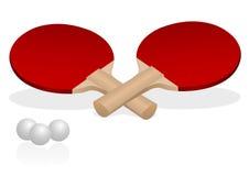 настольный теннис ракеток Стоковые Изображения RF