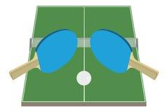настольный теннис бесплатная иллюстрация