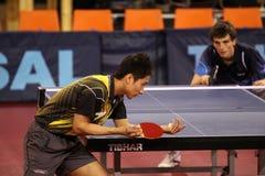 настольный теннис yoshida сервировки kaii Стоковое фото RF
