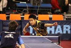 настольный теннис yoshida kaii Стоковое Фото