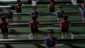 Настольный футбол, футбол t r сток-видео