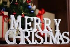 Настоящие моменты под рождеством дерева Стоковые Фото