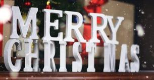 Настоящие моменты под рождеством дерева Стоковые Фотографии RF