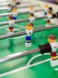 Настольная игра футбола таблицы Стоковая Фотография RF