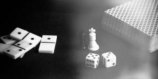 Настольные игры Стоковые Изображения
