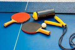 настольный теннис оборудования Стоковые Изображения RF