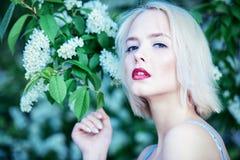 Настроение весны в портрете стоковая фотография
